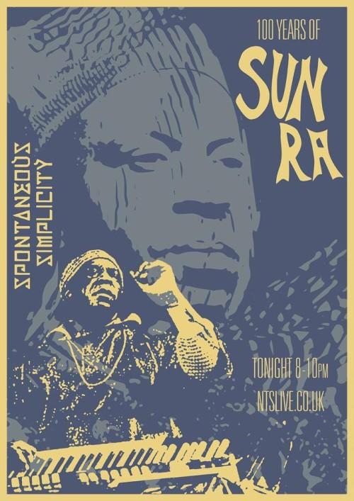 Stream Mr. Beatnick's two hour Sun Ra tribute on NTS Radio