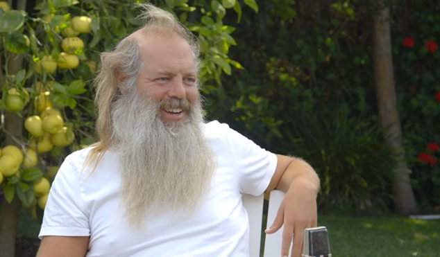 Watch Rick Rubin discuss his career in a rare one-hour long interview