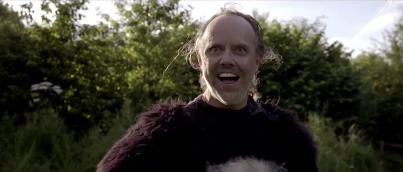 Glastonbury Day 5: Metallica open their set with a satirical film about bear-hunting
