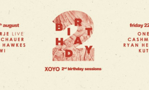 London's XOYO to celebrate 2 years this August with Todd Terje, Oneman, Cashmere Cat, Kutmah and more
