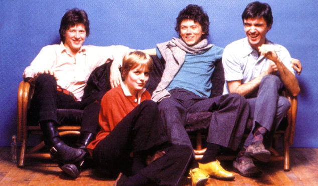 Hear some of the earliest Talking Heads recordings, the CBS Demos 1975