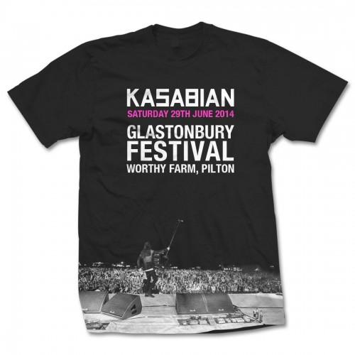 Kasabian Glastonbury Live T-Shirt-500x500