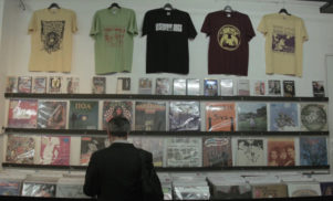 Record Shopping in Brussels