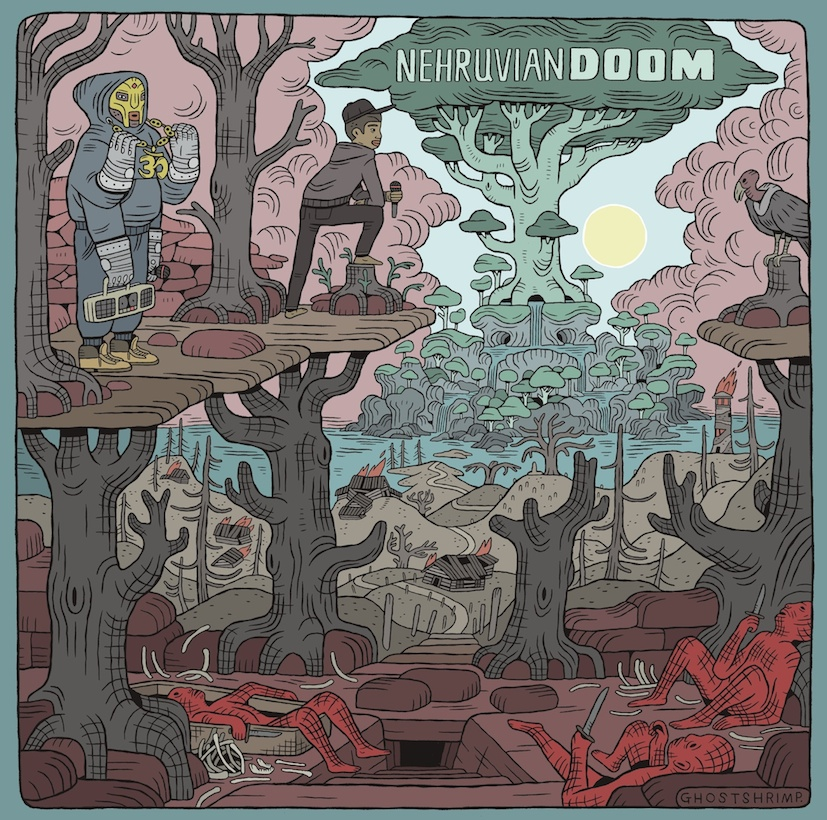 NehruvianDOOM album artwork