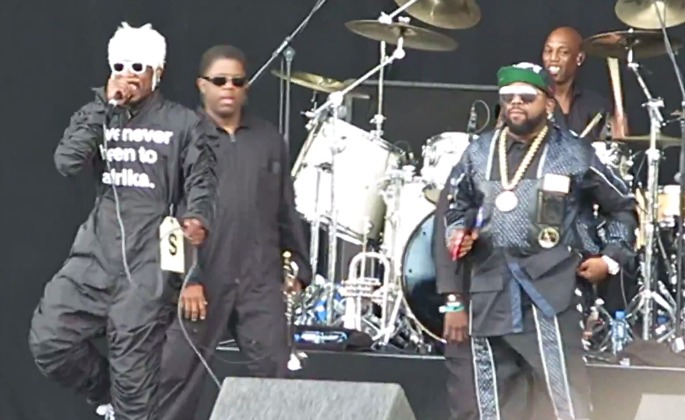 outkast070714OutKast return to UK for Wireless Festival – watch clips from their greatest hits set