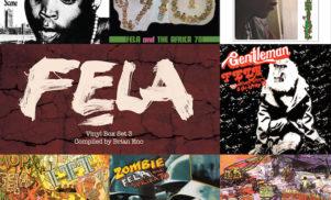 Brian Eno curates seven-LP Fela Kuti vinyl box set