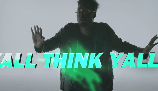 Check out the vivid video for Rustie and Danny Brown's 'Attak'