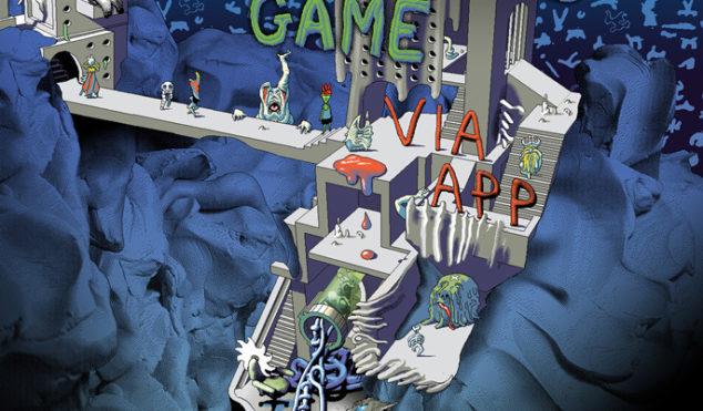 "Hear Via App's ""post-hypnagogic"" debut album Dangerous Game on 1080p"