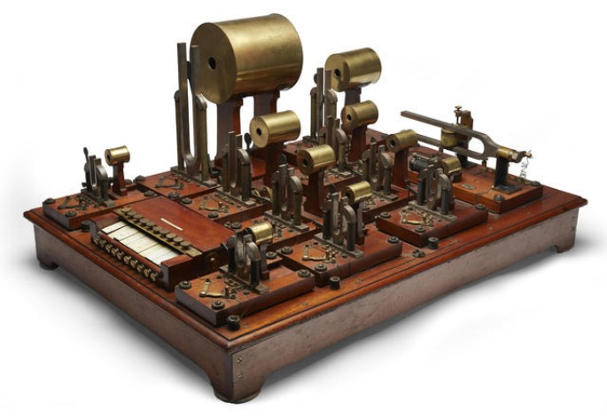 The world's first electronic synthesizer is up for auction