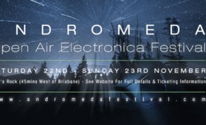 Jonas Kopp, Darko Esser, Tripeo and Trus'me head to Queensland for Andromeda Festival