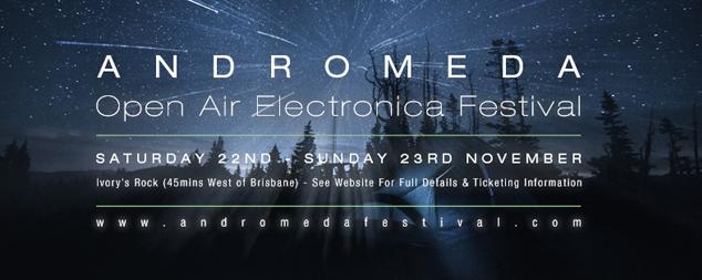 Jonas Kopp, Darko Esser, Tripeo and Trus'me head to Queensland for Andromeda Festival