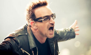 """""""Oops. I'm sorry about that."""" Bono apologizes for U2's Songs of Innocence release"""