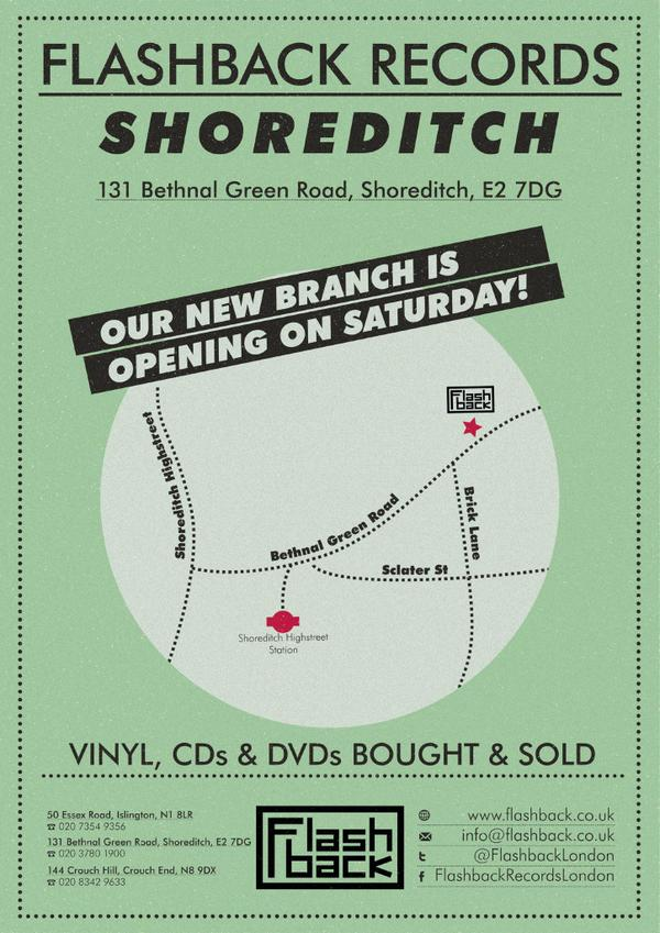 Flashback Records opens a new branch in Shoreditch - FACT