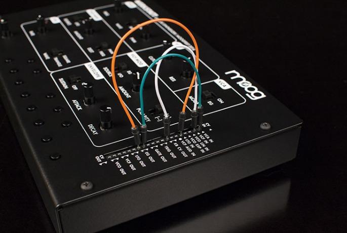 Moog's build-it-yourself Werkstatt-Ø1 synth gets worldwide release
