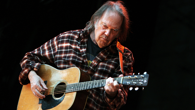 Neil Young's announces the tracklist and release date for new album </em>Storeytone</em>