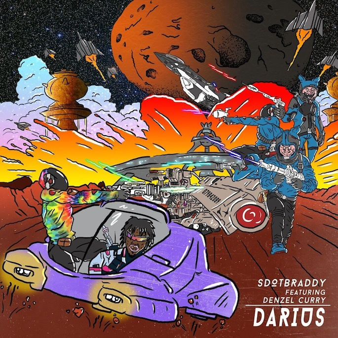Denzel Curry launches label, introduces Miami rapper SDotBraddy with street epic 'Darius'
