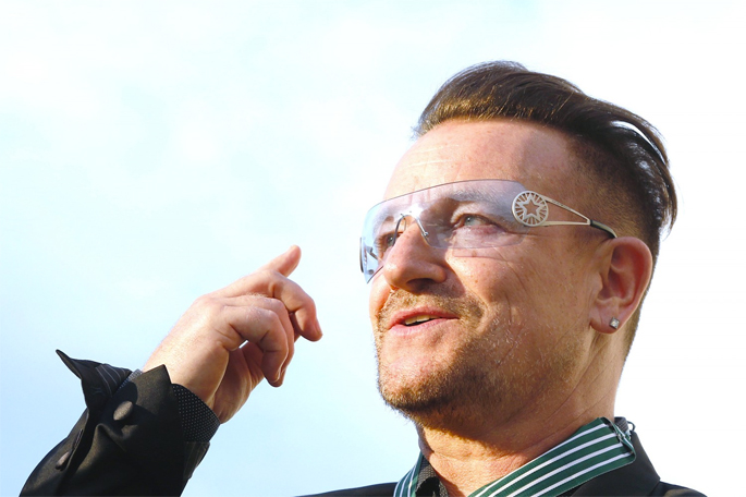 Bono hospitalised following cycling accident