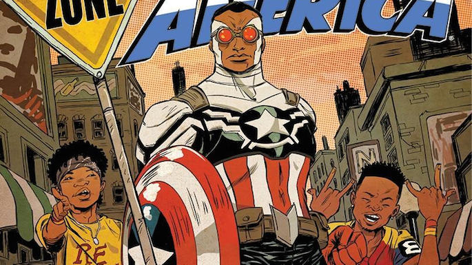 'No Flex Zone' duo Rae Sremmurd featured on All-New Captain America cover