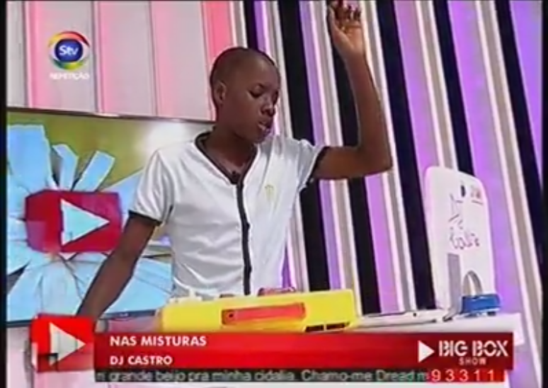 Watch Mozambique's young DIY DJ Castro perform without any electronic equipment