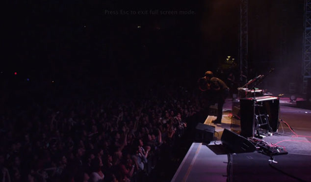 Watch The Postal Service perform 'Nothing Better' live in Berkeley, taken from their Everything Will Change DVD