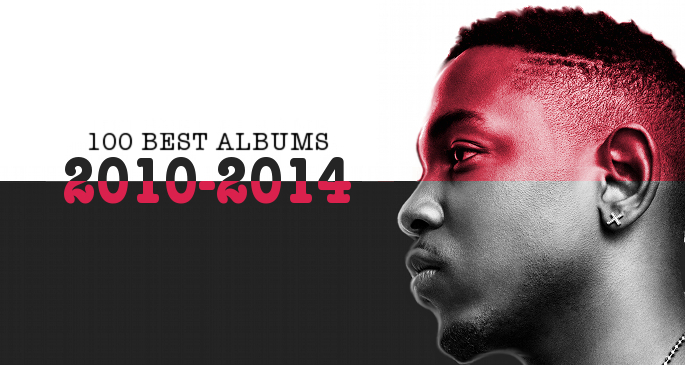 100 best albums 2010-2014