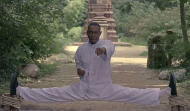 Watch Dizzee Rascal's ridiculously OTT martial arts video for 'Pagans'