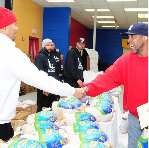 T.I., Ludacris, Big Sean and more share the Thanksgiving spirit