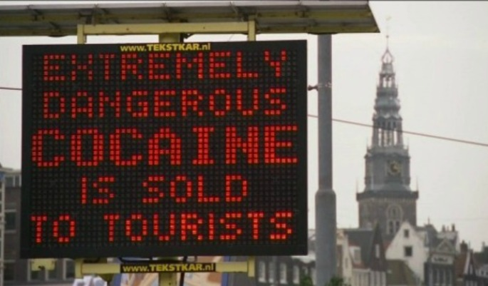 Amsterdam Police Warn Of Heroin Sold As Cocaine After