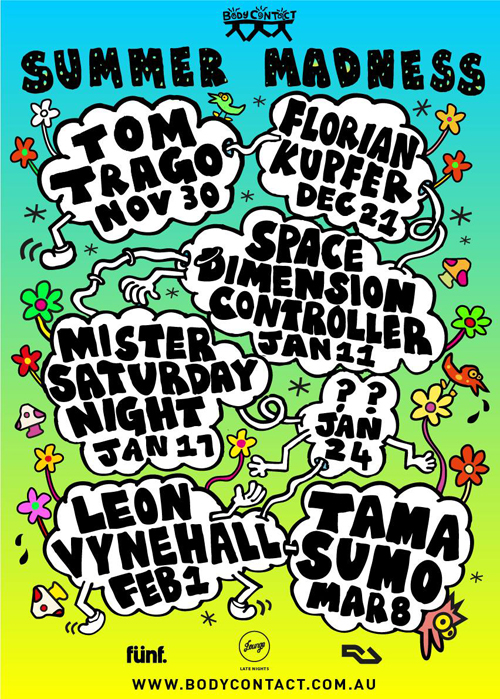 Tama Sumo, Tom Trago, Florian Kupfer and more head to Melbourne for Summer Madness