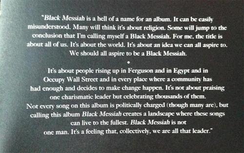 Stream 'Sugah Daddy', from D'Angelo's new album <i>Black Messiah</i>