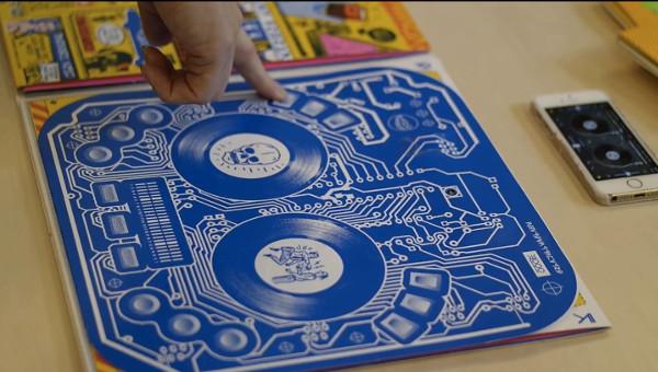 DJ Qbert's new album sleeve doubles as a DJ controller