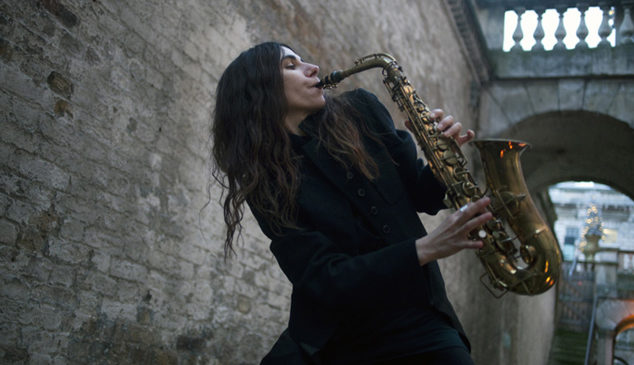 PJ Harvey is selling the lyric sheets from her new album
