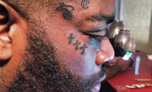 Rick Ross just got seven tattoos on his face