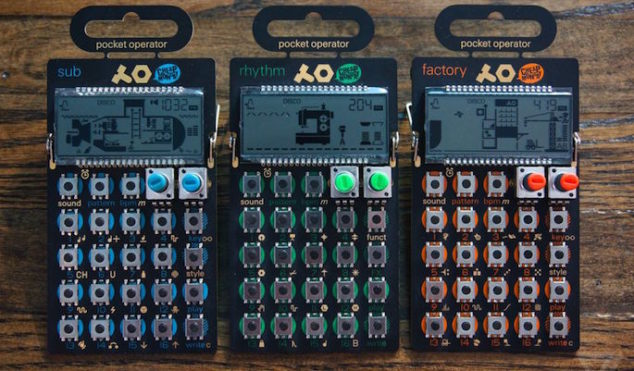 Teenage Engineering unveil an affordable synthesizer that fits in your pocket