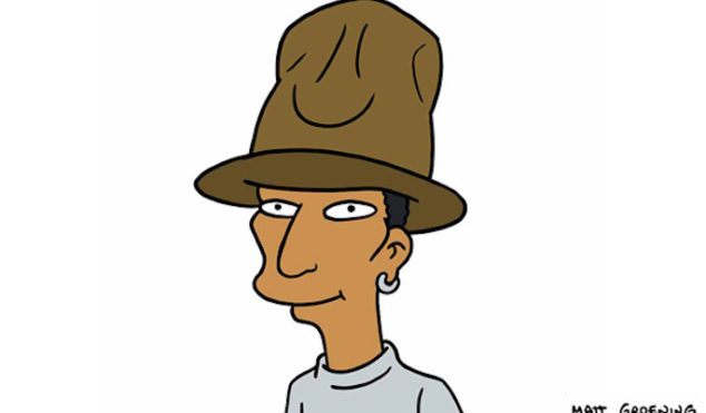 Pharrell to guest star on The Simpsons this season