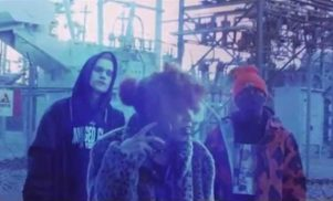 Slug Christ, Lord Narf and Little Pain light the world on fire in 'Gasoline' video