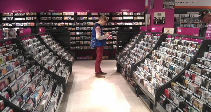 HMV reclaims top spot as Britain's biggest retailer of physical music