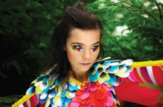 Björk shares awesome Vulnicura physical album art