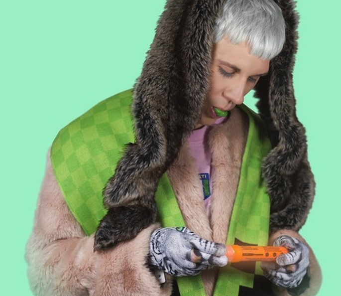 Download the rubbery new single 'tails' by PC Music's Felicita