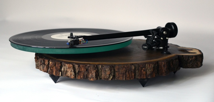 Kickstarter launched for company that hand crafts turntables out of wood