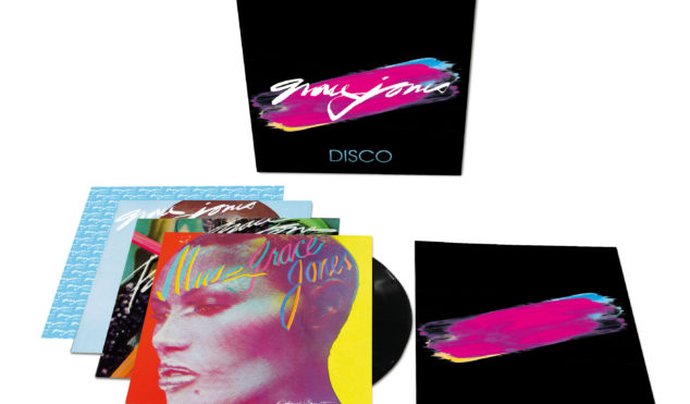 Grace Jones' first three LPs reissued as The Disco Years box set