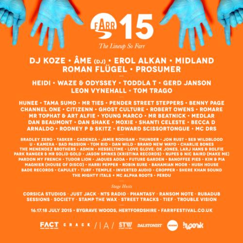 Farr Festival completes 2015 line-up