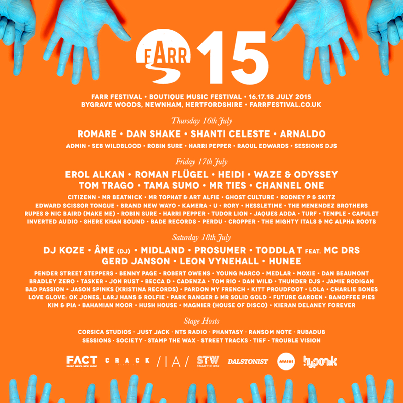 Farr Festival reveals day-by-day lineup breakdown for 2015