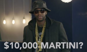 Watch 2 Chainz and Big Sean drink diamond-infused vodka