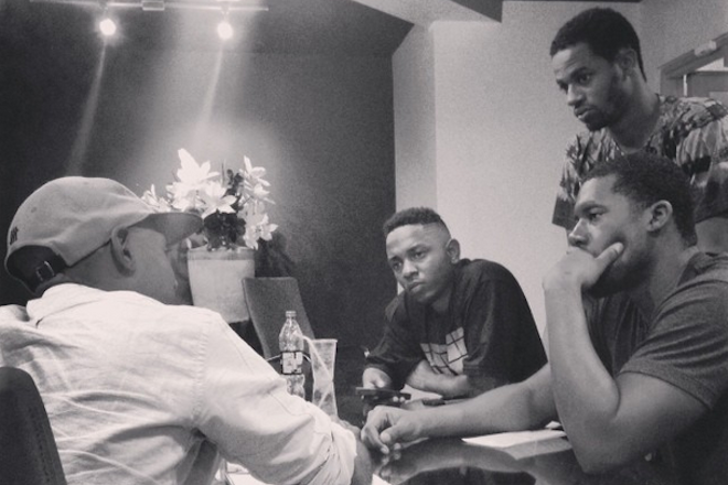 """Flying Lotus says a """"folder"""" of Kendrick Lamar collaborations won't be released"""