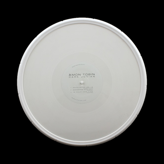 Amon Tobin is releasing a space-inspired EP encased in a white rubber wheel for Record Store Day