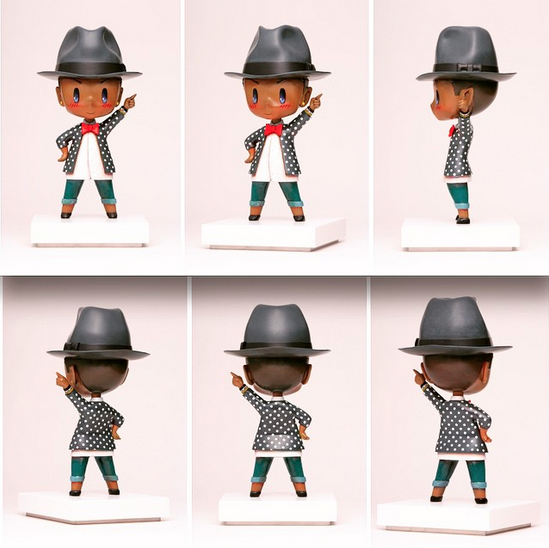 This Pharrell figurine will cost you $20,000