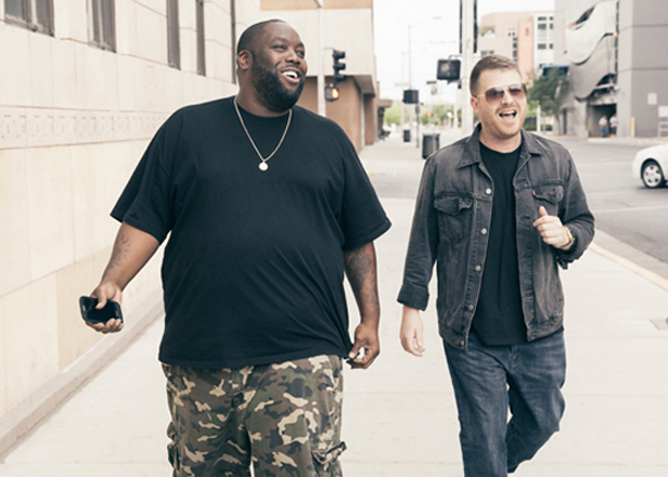 Watch Run the Jewels get attacked during SXSW performance