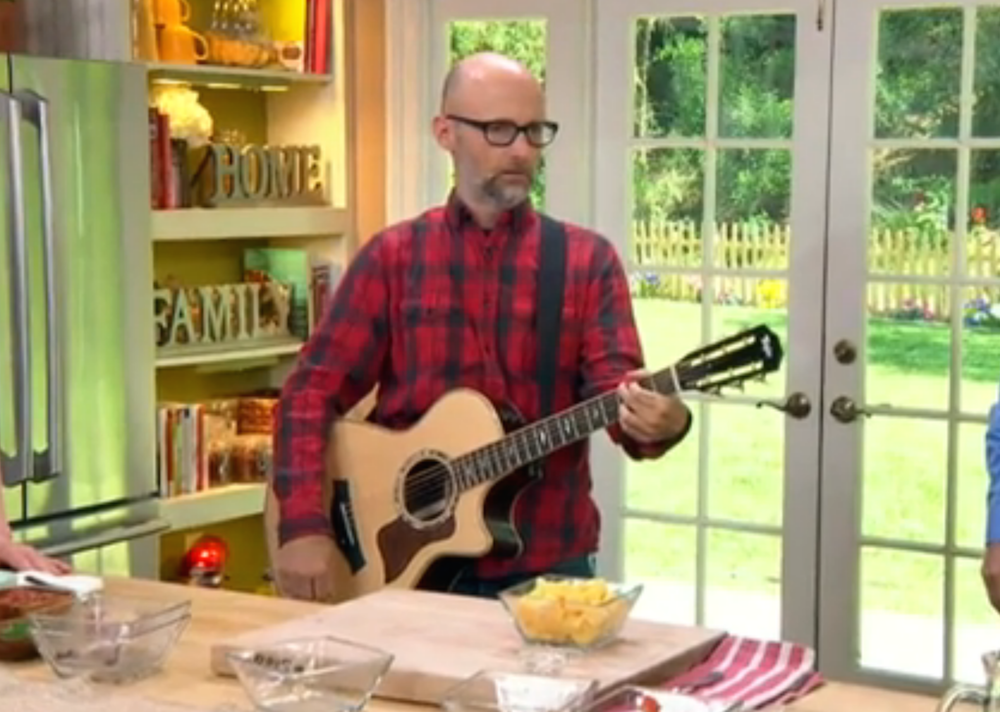 Moby is opening an organic vegan restaurant in LA, covers Johnny Cash on Hallmark Channel