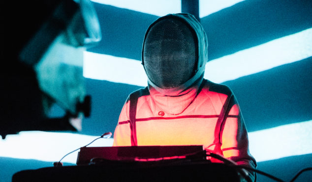 Photos: Squarepusher plays New York's Webster Hall with Machinedrum